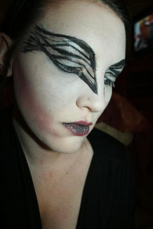 Black Swan makeup look