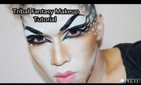 Tribal Fantasy Makeup Tutorial