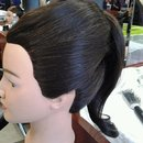 Updo Pony Side