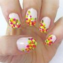 Polk dot nails