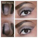 FOTD: Smoky Eyes & Hot Pink Lips