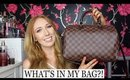 WHAT'S IN MY BAG?! | LOUIS VUITTON SPEEDY 30 BANDOULIERE!