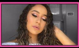 Pink Valentine's Makeup Look | Virginiaaaxo