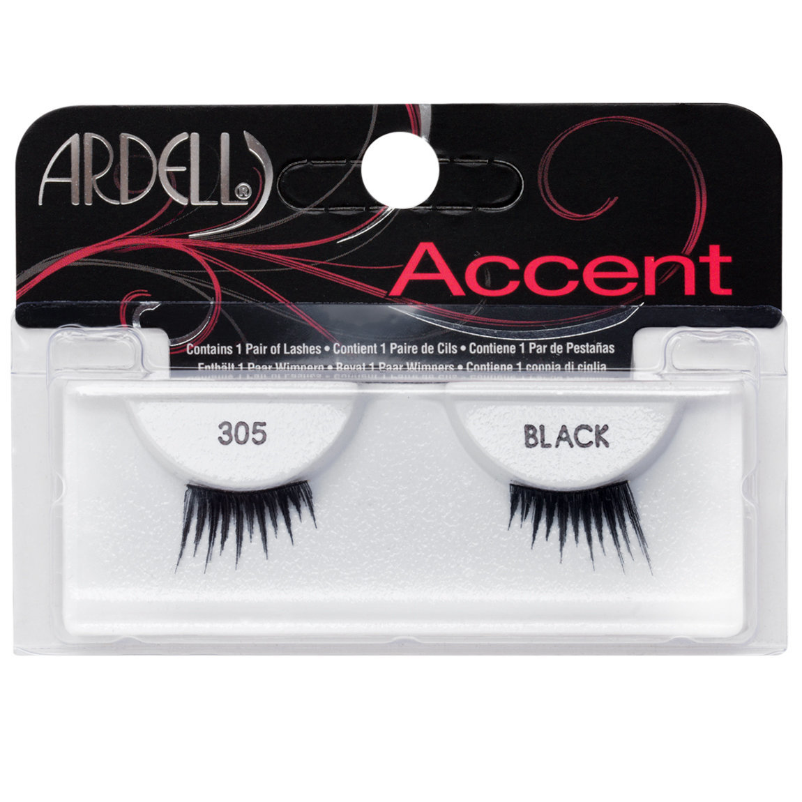 Ardell Accent Lashes 305 Black alternative view 1.