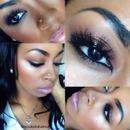 Subtle Glitter Makeup!