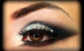 Sexy Smoky Eyes with Glitter - New Year's Eve Make Up Tutorial (Trucco Capodanno)