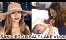 San Diego & Salt Lake City Travel Vlog
