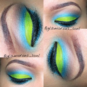 follow me on instagram @glamorous_soul for daily looks. Urban decay electric palette