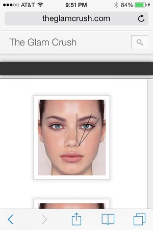 How to base the shape of your eyebrow