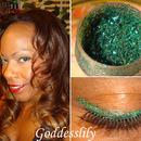 Yellow Blue Green Glitter Mix