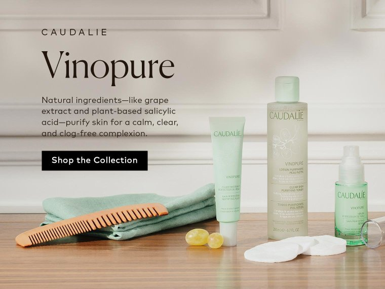 Shop Caudalie's Vinopure Collection.