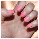 Coral Matte Nails