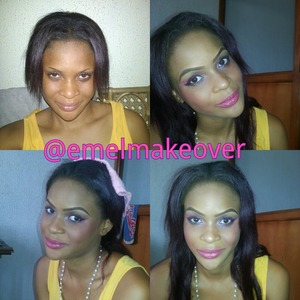 Quinzy churks music video...makeup by Emel makeover