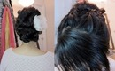 Wedding Hair Tutorial: French Braid Updo