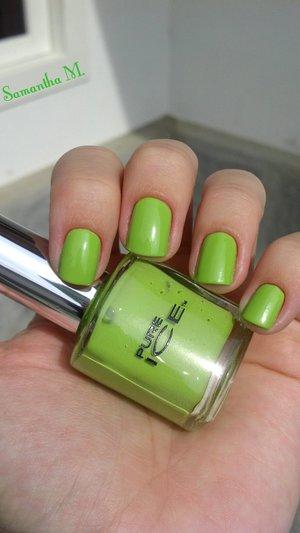 Bright bright green :)