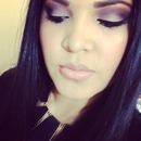 Smokey Purple Eyeshadow