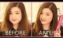 Straight Hair Tutorial Ft. NuMe Megastar Flat Iron | ANGELLiEBEAUTY