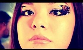 Fiery Winged Eyeliner/Phoenix Makeup Tutorial