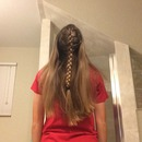 French Center Dutch Braid