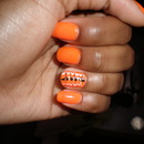 Halloween Colors in Spring