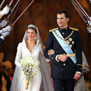 Spanish Crown Prince Felipe and Letizia Ortiz