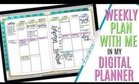 Setting up Weekly Digital Plan With Me Nov 4 to Nov 10 PROCESS, Digital PWM November 4 to Nov 10