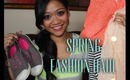 Spring Fashion Haul: F21, Gap, Nordstrom