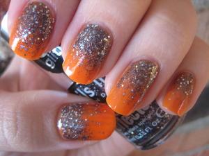 halloween glitter gradient look :)   nails inc-sloane square opi-y'all come back ya hear zoya-arizona