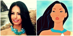 Created this look inspired by my favorite Disney Character ever, Pocahontas 🌺 Like (💚) if you like it, I would also like some feedback on whether I should create more looks or do a better version of this one :)