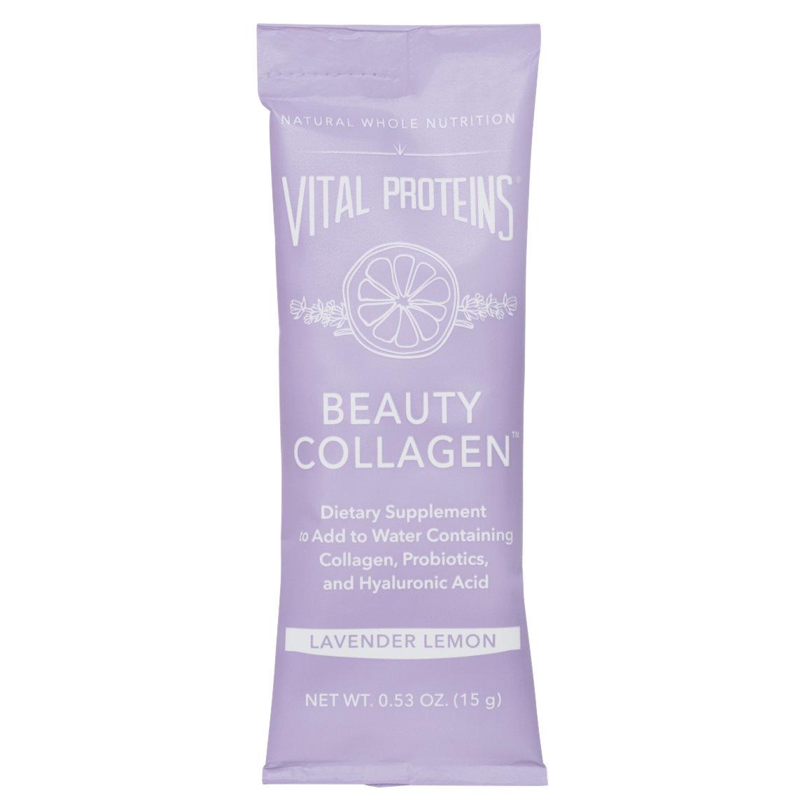 Vital Proteins Beauty Collagen - Lavender Lemon Stick Packs product swatch.
