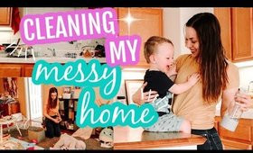 COMPLETE DISASTER CLEANING MOTIVATION | ALL DAY CLEAN WITH ME 2020