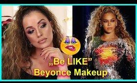 "🤑 ""Be Like"" -  Beyoncé Makeup krok po kroku 🤑"