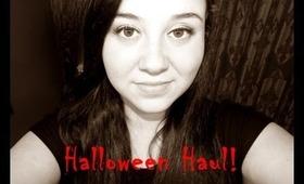 My Halloween Haul!
