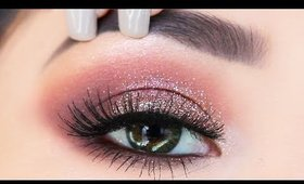 The EASIEST Glitter Eyeshadow Makeup Tutorial for Beginners   What to use to apply glitter?