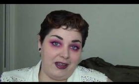 Girly Grunge Makeup