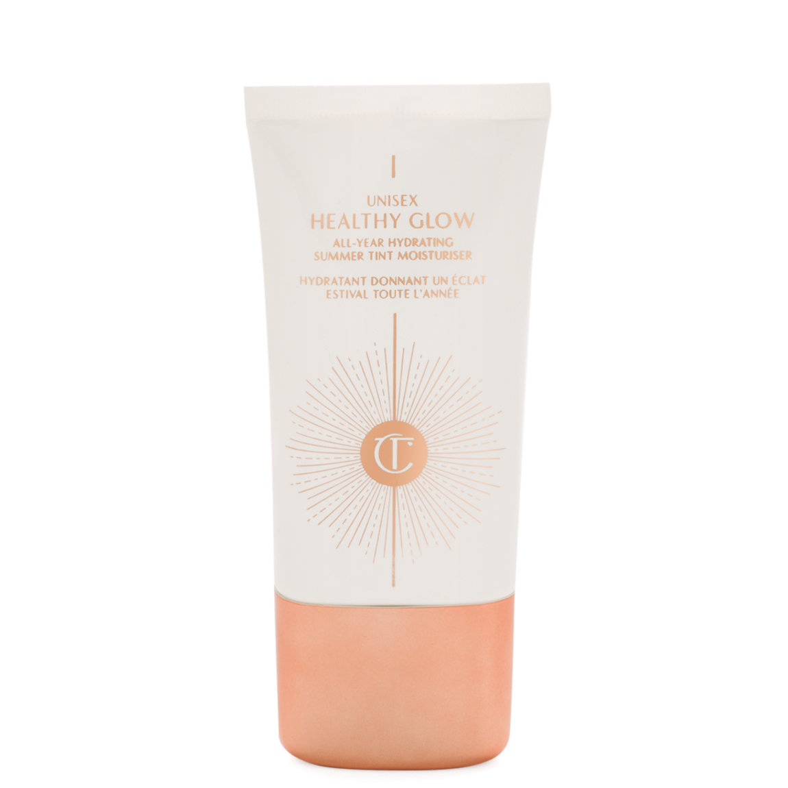 Charlotte Tilbury Unisex Healthy Glow product smear.