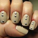 Nude Silver Studs ^_^