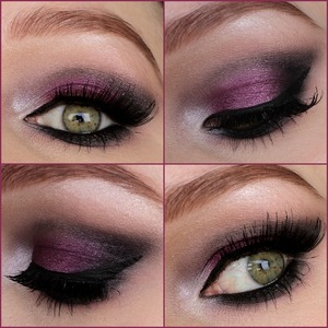 This look is inspired by maya_mia_y from instagram. I used eyeshadows from the sleek vintage romance palette. Falsies are from ebay. Please follow me on instagram: http://instagram.com/makeupbyeline/