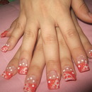 3D inside nail and 3D dots