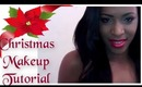 Makeup Tutorial: Holiday Christmas look.