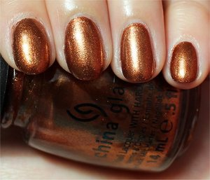 See more swatches & my review here: http://www.swatchandlearn.com/china-glaze-harvest-moon-swatches-review/