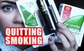 QUITTING SMOKING!