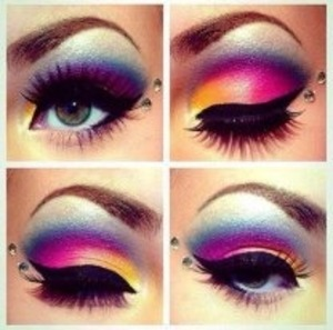 I did NOT do this.. but i'm truly in love with this look ... !!!