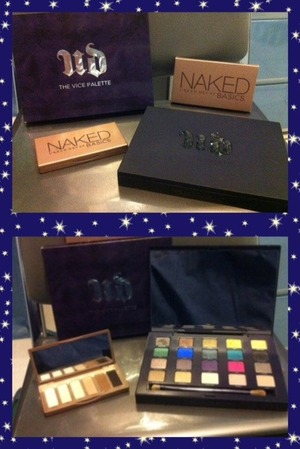 Added the Urban Decay Vice and Basics palette to my makeup collection