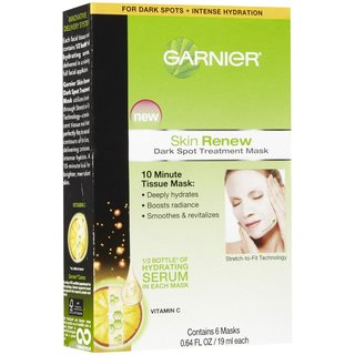 Garnier Skin Renew Dark Spot Treatment Mask For Dark Spots + Intense Hydration