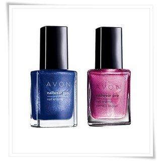 Avon Nailwear Pro Nail Enamel in Limited-Edition Holiday Shades