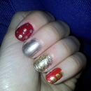Red&Gold sparkles