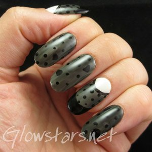 Read the blog post at http://glowstars.net/lacquer-obsession/2014/08/dont-give-me-love-ive-had-my-share/