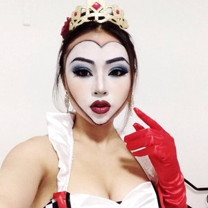 One of the looks I posted on my instagram @chevonnecheng for Halloween 2014. :)