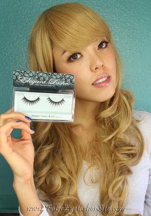 Elegant Lashes #028 Brown False Eyelash review! http://blog.falseeyelashessite.com/product-review-elegant-lashes-028-brown-false-eyelashes/ Can't get enough of these lashes!